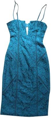 Style Stalker Turquoise Dress for Women