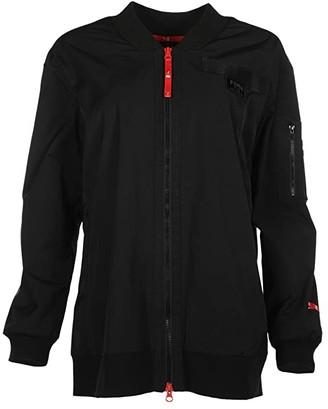 Puma AL Long Bomber (Black) Women's Clothing