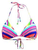 Rip Curl Swimsuit Triangle Rainbow Tri Top Multicolore