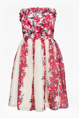 French Connection Edith Vintage Strapless Dress