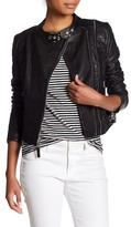 Rudsak Crop Moto Leather Jacket