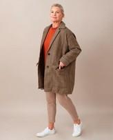 Beaumont Organic June Ann British Wool Jacket In Multi Check - Multi Check / Large