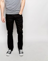 Nudie Jeans Grim Tim Slim Fit Stretch Black Ring