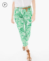 Chico's Santorini Scroll Crop Jeans