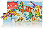 Eeboo DINOSAURS AT LEISURE 36-PIECE PANORAMIC PUZZLE