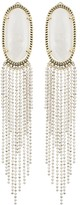 Kendra Scott Amy Statement Earrings in White Pearl