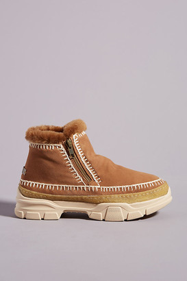 Laidback London Setsu 2.0 Ankle Boots By Laidback London in Beige Size 36