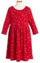Tea Collection Uzu Uzu Babydoll Dress (Toddler Girls, Little Girls & Big Girls)