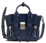 3.1 Phillip Lim Mini Pashli Leather Satchel - Blue