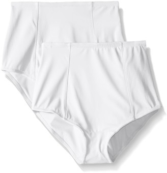 Ellen Tracy Women's Classic Comfort Brief with Extra Tummy Hold