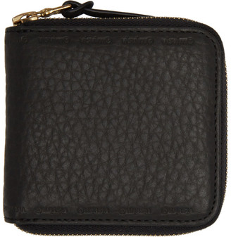 Visvim Black Zip Bifold Wallet