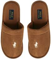 Ralph Lauren Mens Sunday Scuff Slippers Snuff/Khaki