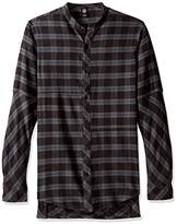 Neff Men's Erikk Long Sleeve Flannel Button up