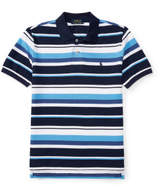 Polo Ralph Lauren Striped Cotton Mesh Polo (8-14 Years)