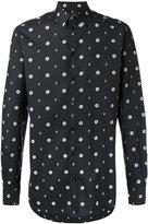 Dolce & Gabbana bee print shirt - men - Cotton - 41