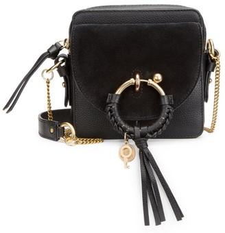See by Chloe Mini Joan Suede & Leather Crossbody Bag