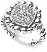 Lagos Women's Caviar Spark Square Diamond Ring