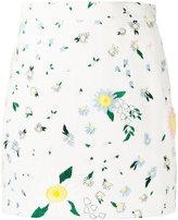Thom Browne floral print skirt