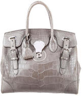 Ralph Lauren Alligator Ricky Bag