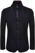 Ted Baker Roy Jersey Blazer Jacket With Liner Navy