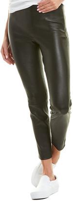 Vince Leather Crop Legging