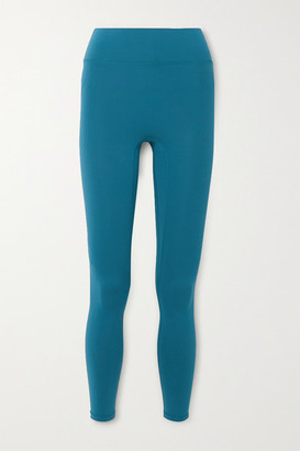 All Access Stevie Striped Stretch Leggings - Blue