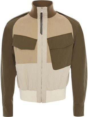 J.W.Anderson Colour Block Bomber Jacket
