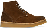 Diesel Brown D-Army Lace-up Boots
