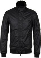 Armani Jeans Black Aviator Jacket