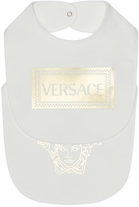 Versace Kids Set of two printed bibs