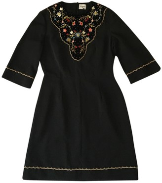 Vilshenko Black Cotton Dresses