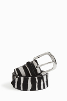 Isabel Marant Ronn Animal Skinny Belt