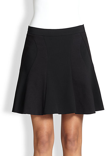 DKNY Fit-&-Flare Ponte Skirt