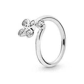 Pandora Women Silver Eternity Ring 197988CZ-48