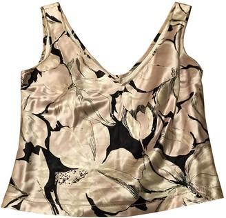 Anna Molinari Ecru Silk Top for Women