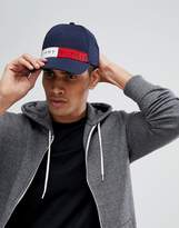 Tommy Hilfiger Tommy Jeans Flag Logo Baseball Cap In Navy