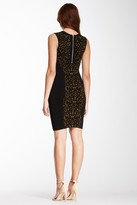 Torn By Ronny Kobo Candice Animal Panel Dress