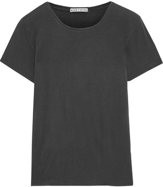 Alice + Olivia Cotton And Modal-blend Jersey T-shirt