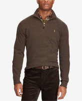 Polo Ralph Lauren Men's Big & Tall Estate-Rib Mock-Neck Pullover
