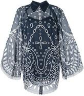Alice McCall Moonchild lace mini shirtdress