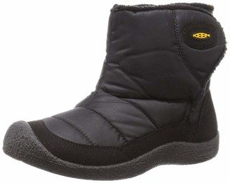 Keen Kids Howser 2 Mid Height Ankle Boot Black Yellow 5 US Unisex Toddler