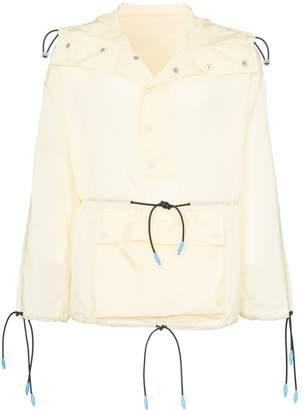 Sunnei drawstring detail hooded jacket