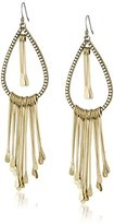 Lucky Brand Gold Paddle Earrings