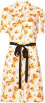 Carolina Herrera butterfly print dress - women - Cotton - 6