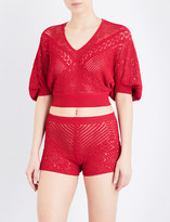 La Perla Beyond The Beach knitted top