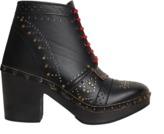 Burberry Atrim heeled clog boots