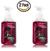 Bath and Body Works Bath & Body Works, Gentle Foaming Hand Soap, Black Cherry Merlot (2-Pack)
