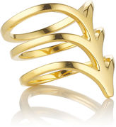 Smith/Grey Gold-plated Silver Ella Ring