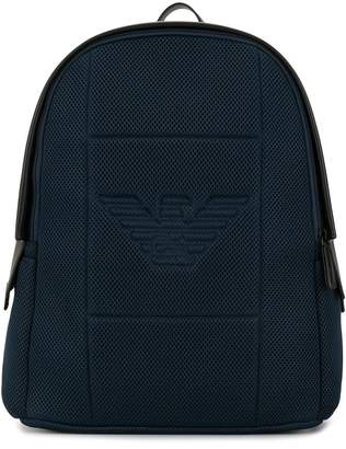 Emporio Armani neoprane backpack