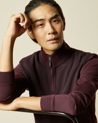 Ted Baker Textured Funnel Neck Jumper
